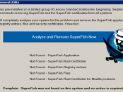 SuperFish Removal tool